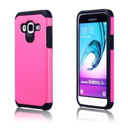 Samsung Galaxy J3 (2016) hybridskal - Varm rosa