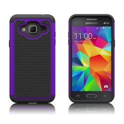 Samsung Galaxy J3 (2016) / J3 hybridskal - Lila