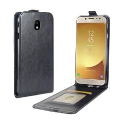 Samsung Galaxy J5 (2017) Enfärgat flipfodral - Svart