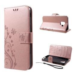Samsung Galaxy J6 (2018) mobilfodral konstläder plånbok ståe
