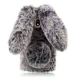 Samsung Galaxy J7 (2017) Kanin designat skal - Mörk grå