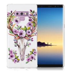 Samsung Galaxy Note 9 mobilskal silikon självlysande tryckmö
