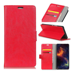 Samsung Galaxy Note9 mobilfodral silikon syntetläder stående