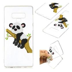 Samsung Galaxy Note9 mobilskal silikon tryckmönster - Panda