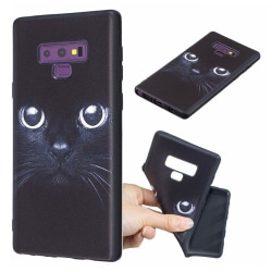 Samsung Galaxy Note9 mobilskal silikon tryckmotiv - Katt