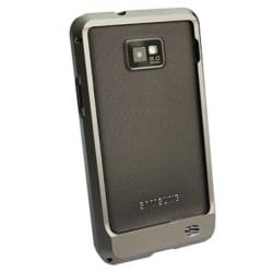 Samsung Galaxy S2 Aluminium-Bumper (Grå)