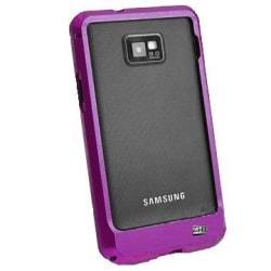 Samsung Galaxy S2 Aluminium-Bumper (Lila)