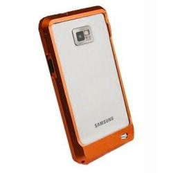 Samsung Galaxy S2 Aluminium-Bumper (Orange)