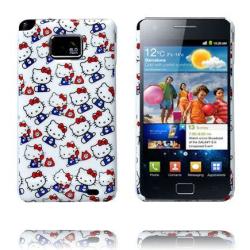 Samsung Galaxy S2 Hello Kitty Skal (100 Kattungar)