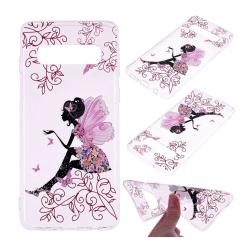 Samsung GalaxyS10e mjuktfodral med mönster - Blommande Skönh