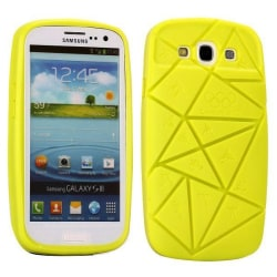 Scattered (Gul) Samsung Galaxy S3 Silikonskal