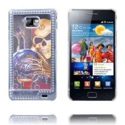 Skull BlingBling (Death Globe) Samsung Galaxy S2 Skal