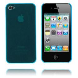 Slim Series (Ljusblå) iPhone 4 Skal