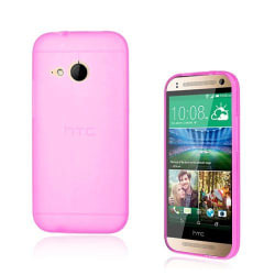 Soft Shell (Rosa) HTC One Mini 2 Skal