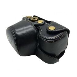 Sony Alpha A6300A6000 Kamera väska i läder - Svart