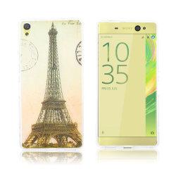 Sony Xperia XA Ultra silikonskal med mönster - Eiffeltornet