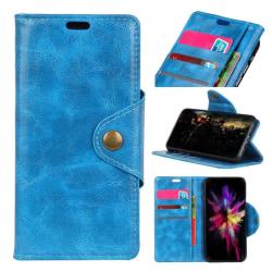 Sony Xperia XA2 mobilfodral PU läder TPU plånbok stående - B