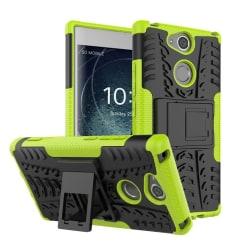 Sony Xperia XA2 mobilskal plast och TPU utfällbart ställ - G