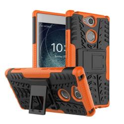 Sony Xperia XA2 mobilskal plast och TPU utfällbart ställ - O