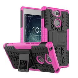 Sony Xperia XA2 mobilskal plast och TPU utfällbart ställ - R