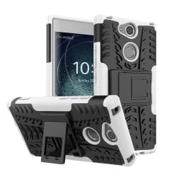 Sony Xperia XA2 mobilskal plast och TPU utfällbart ställ - V