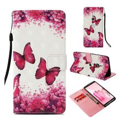 Sony Xperia XZ3 plånboks mobilfodral av syntet läder med uni
