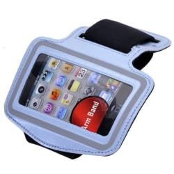 Sport iPhone 4S Armbandsskal (Ljusblå)
