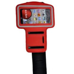 Sport iPhone 4S Armbandsskal (Röd)