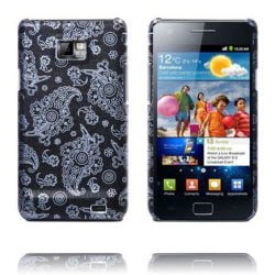 Sumatra (Full Svart - Vit) Samsung Galaxy S2 Skal
