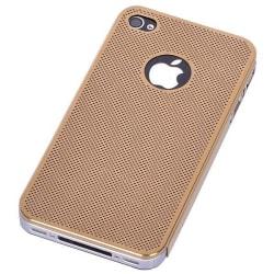 Supra Alu Skal (Gyllene) iPhone 4/4S Aluminium Skal