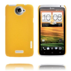 Supreme (Mörkgul) HTC One X Skal