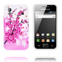 Symphony (Rosa Blommor) Samsung Galaxy Ace Silikonskal