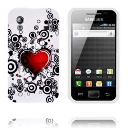 Symphony (Rött Hjärta) Samsung Galaxy Ace Silikonskal