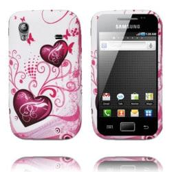 Symphony (Två Lila Hjärtan) Samsung Galaxy Ace Silikonskal