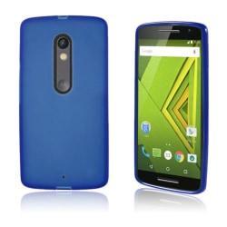 TPU Mjukt Skal Motorola Moto X Play - Blå