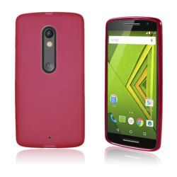 TPU Mjukt Skal Motorola Moto X Play - Röd