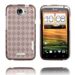 Tuxedo (Grå Transparent) HTC One X Skal