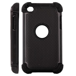 Twin Shell (Svart) iPod Touch 4 Hybridskal
