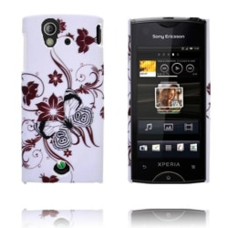 Valentine (Brun Blommor & Grenar) Sony Ericsson Xperia Ray S
