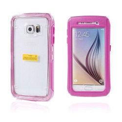 Vatten Samsung Galaxy S6 Vattensäker Skal - Het Rosa