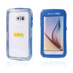 Vatten Samsung Galaxy S6 Vattensäker Skal - Mörk Blå