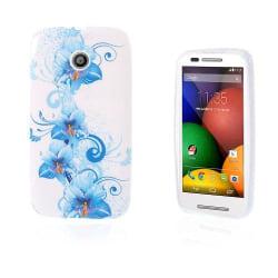 Westergaard (Blå Blommor) Motorola Moto E Skal