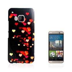 Westergaard HTC One M9 Skal - Färggranna Kärleksfulla Hjärta