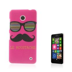 Westergaard (Mustasch & Glasögon Rosa) Nokia Lumia 630 / 635