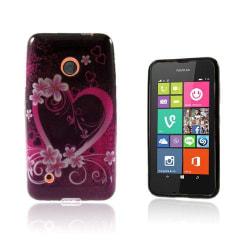 Westergaard Nokia Lumia 530 Skal - Hjärta & Blommor