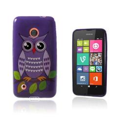Westergaard Nokia Lumia 530 Skal - Lila Uggla På En Gren