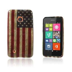 Westergaard Nokia Lumia 530 Skal - Vintage USA Flagga