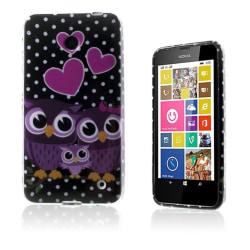 Westergaard Nokia Lumia 630 Skal - Kärleks Hjärtan och Ugglo