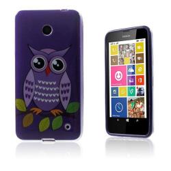 Westergaard Nokia Lumia 630 Skal - Lila Söt Uggla