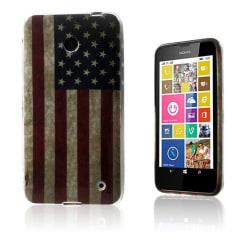 Westergaard Nokia Lumia 630 Skal - Vintage USA Flagga
